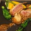 オステリア ブッビーノ - 料理写真:フォアグラを詰めた鶉のロースト