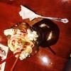 ファイヤーグリル - 料理写真:食後パフェ出てくるのかなり遅く…