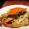 華房 - 料理写真:渡り蟹と卵のあんかけ焼きそば