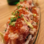 大衆割烹TAKEYA - 名物のっけ寿司