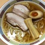 Niboshiiwashiramenen - 煮干しラーメン 700円(ネギ抜き)