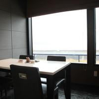 海の見える個室