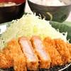 富山豚食堂かつたま - 料理写真:極上ロースかつ定食