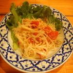 タイ料理ハウス ピサヌローク - ソムタム(パパイヤのサラダ)