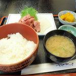 食事処 櫻 - 中おち定食 750円