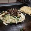 Kawasakiokonomiyaki - 料理写真:かわりモダン焼(の途中)