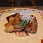 百名伽藍 - メインは,沖縄県産鶏の香草焼きです。