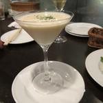 タマヤ - 白アスパラガスの冷製スープ