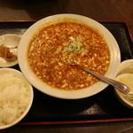 泰陽飯店 - 新麻婆豆腐定食