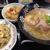 餃子の王将 - 料理写真:ラーメンセット ¥980