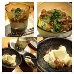 市成 - コチラの名物らしい「ゴルゴンゾーラ豆腐(600円)・・これ美味しい。