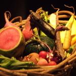 アルカナイズ - [地場野菜]色々なお野菜を説明して下さりました。