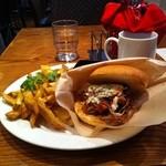 ブルドッグ テックスメックス バーベキュー - Bulldog BBQ Sandwich 1100円