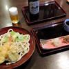 浅間茶屋 - 料理写真:ぶっかけ(825円)ビール中瓶(590円)