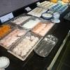 ケンロク - 料理写真:朝食バイキングの海鮮丼のネタ