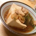 立飲みいこい - 肉豆腐150円