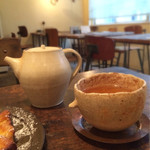 roti cafe - こんな感じで頂きます。