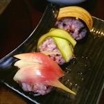 やさい家めい - お野菜寿司♡可愛い~♪