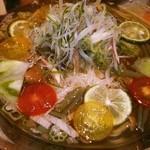 やさい家めい - 梅風味蓴菜さっぱりとろとろ素麺♡暑いときに嬉しい一品♪