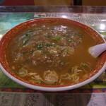 音羽鮨 - 激辛タンタンメン(大盛)