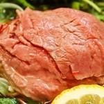 松阪牛麺 - 松坂牛麺(出汁をかけた後)