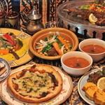 モロッコ料理カサブランカ - コースイメージ