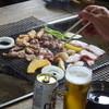 リゾートサッポロ - 料理写真:BBQ開始です