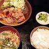 砦 - 料理写真:【H26.7.12】大和豚の生姜焼き定食1000円。