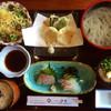山忠  - 料理写真:お魚ランチ¥1000税込。