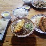 味の壺平 - 壺平定食(3品すべて)1300円