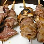 まこちゃん - 砂肝・軟骨