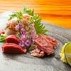吹上庵 - 料理写真:白醤油と塩でお召し上がり下さい。