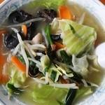 市松 - タン麺¥700