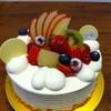 パティスリー ポンデラルマ - 料理写真:フルーツのショートケーキ。