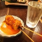 焼とんyaたゆたゆ - 日本酒に名物つくね