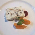 バッチョーネ - チョコレートとアーモンドのパルフェ