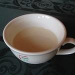 曽爾高原ファームガーデン - 冷製スープ。 しょっぱい(゚-、゚)ジュル