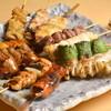 串善 - 料理写真:焼鳥盛り