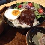 翠cafe - ロコモコ