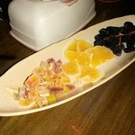 バーバンブーグラス - 140712フルーツ盛り合わせ