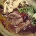 はんなり - 「柊」の1品 牛肉陶板焼