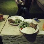 ハンモックベースカフェ - 豚肉のダッチオーブン焼き