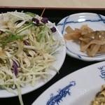 金龍 - サラダ・ザーサイの刻み