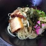 麺食堂とまと - 料理写真:麺食道 とまと 汁なしラーメン ¥550円