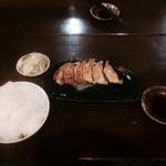 らーめん 軽菜 - 餃子セット^ ^ 2014.7訪問^ ^