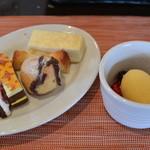 Trattoria Pino - 2014/07 本日のパスタセット&デザートブッフェ 2,100円