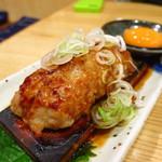 味の鶴岡 - つくね大判焼き400円