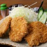 とんかつ 杉 - 料理写真:ひれかつ定食 (2014年7月)