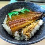 無添くら寿司 - すしやのうな丼(山椒付き)580円