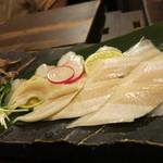 玄海対馬 - 料理写真:対馬の穴子の刺身!身が厚くて美味しい!